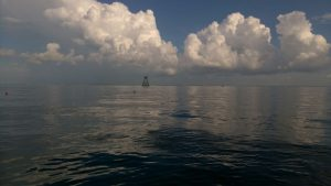 key largo weather showing clouds over molasses tower